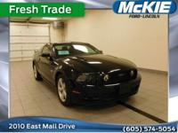 //FORD CERTIFIED PRE-OWNED//. Ford Certified, 2D Coupe,