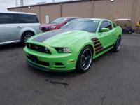 Green 2014 Ford Mustang GT Premium RWD 6-Speed