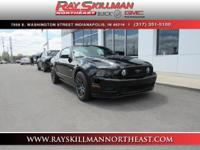 LOW MILES - 45,043! Black exterior and Saddle interior,