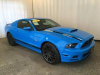 This 2014 Ford Mustang GT Premium comes equipped with
