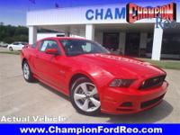 Exterior Color: race red, Body: Coupe, Engine: 5.0L V8