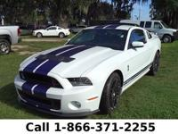 2014 Ford Mustang Shelby GT500 Features:Leather Black