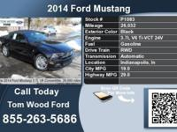 Call Tom Wood Ford at  Stock #: P1083 Year: 2014 Make: