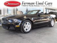 (813) 922-3441 ext.634 This 2014 Ford Mustang V6 is