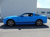 Exterior Color: grabber blue, Body: Coupe, Fuel: