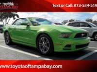 Options:  2014 Ford Mustang V6 Premium|Green|Detroit