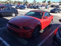 This 2014 Ford Mustang in Race Red features. 2D