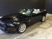 2014 Ford Mustang V6 Premium in Black, One Owner