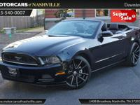 This 2014 Ford Mustang 2dr 2dr Convertible V6 Premium