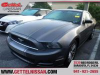 Options:  2014 Ford Mustang V6 Premium|Grey|3.7L V6|2