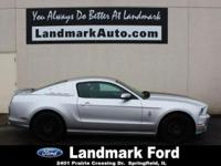 Our 2014 Ford Mustang Coupe with Black Center Striping