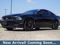 2014 Ford Mustang V6 in Black, This Mustang comes with