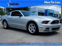 Gasoline! Silver Bullet!   This great 2014 Ford Mustang