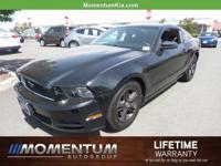 Options:  2014 Ford Mustang V6 Premium|Black/Charcoal