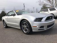 Clean CARFAX. New Price! LEATHER, BLUETOOTH, Mustang