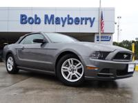 Clean CARFAX. 2014 Ford Mustang RWD 6-Speed 3.7L V6