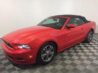 New Price! This 2014 Ford Mustang in Race Red features.