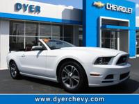 Check out this 2014 Ford Mustang V6. Its transmission
