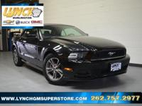 New Price! 2014 Black Ford Mustang V6 6-Speed Automatic