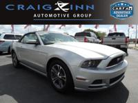 CarFax 1-Owner, This 2014 Ford Mustang V6 will sell
