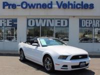 This 2014 Ford Mustang V6 Premium * ONE OWNER is