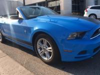 Clean. V6 trim, Grabber Blue exterior and Charcoal