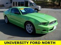 2014 Ford Mustang V6 Gotta Have It Green Metallic