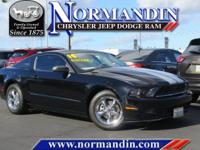 **ONE OWNER** and **CLEAN TITLE HISTORY**. Mustang V6,