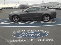 Mustang V6, 2D Coupe, 3.7L V6 Ti-VCT 24V, 6-Speed, and