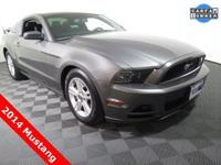 2014 Ford Mustang V6 Coupe with a 3.7L V6 Engine. Cloth