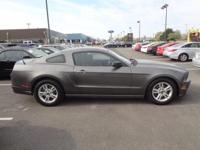 2014 Sterling Gray Ford Mustang V6 Certification