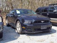 This 2014 Ford Mustang V6 in Black features: CARFAX