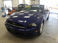 This 2014 Ford Mustang V6 in Blue features: 3.7L V6