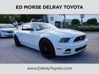 This 2014 Ford Mustang V6 is proudly offered by Ed