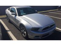 This 2014 Ford Mustang  has a 3.7 liter V6 Cylinder
