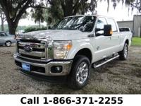 2014 Ford Super Duty F-250 Srw Lariat Features: Leather