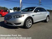 2014 Ford Taurus Limited FWD. +++ Carfax Certified One