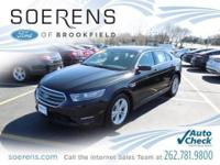 2014 FORD TAURUS SEL 4D Sedan, 18 Painted Aluminum