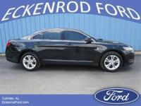 This 2014 Ford Taurus is a classy looking sedan. Dark