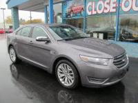 The 2014 Ford Taurus Limited is a pleasing