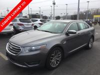 **CLEAN CARFAX**, 2014 Ford Taurus Limited, *LEATHER