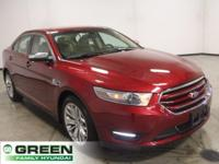 2014 Ford Taurus Limited Ruby Red Metallic Tinted