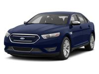 Come see this 2014 Ford Taurus Limited before someone
