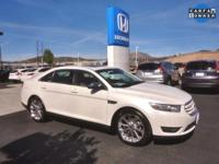 CARFAX One-Owner. Clean CARFAX. White 2014 Ford Taurus