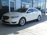 Options 2017 Ford Taurus 4dr Sdn Sel Awd Used White