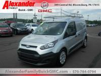 Silver 2014 Ford Transit Connect XL FWD 6-Speed