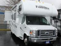 2014 Forest River Forester 2701DSF. New 27 Class C Mini