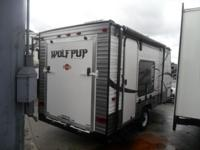 Pre-Owned 2014 Forest River RV Wolf Pup 17RP Toy Hauler