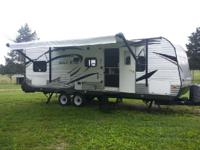 2014 Forest River Salem 26Tbud Triple bunks in the rear