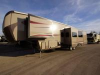 The 2014 Gateway 3650BH 5th Wheel has 5 slides. A big